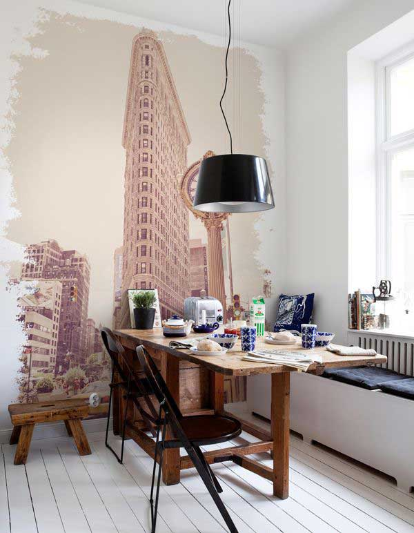 22 Cool Dinning Rooms Transformed Beautifully by Wall Murals homesthetics decor (11)