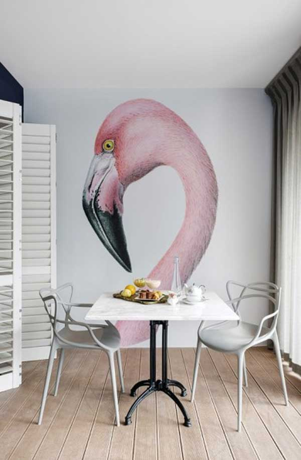22 Cool Dinning Rooms Transformed Beautifully by Wall Murals homesthetics decor (13)
