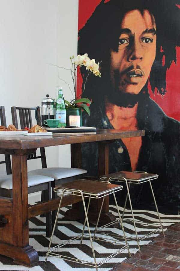 22 Cool Dinning Rooms Transformed Beautifully by Wall Murals homesthetics decor (14)