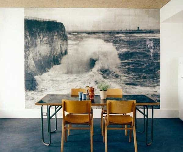 22 Cool Dinning Rooms Transformed Beautifully by Wall Murals homesthetics decor (15)