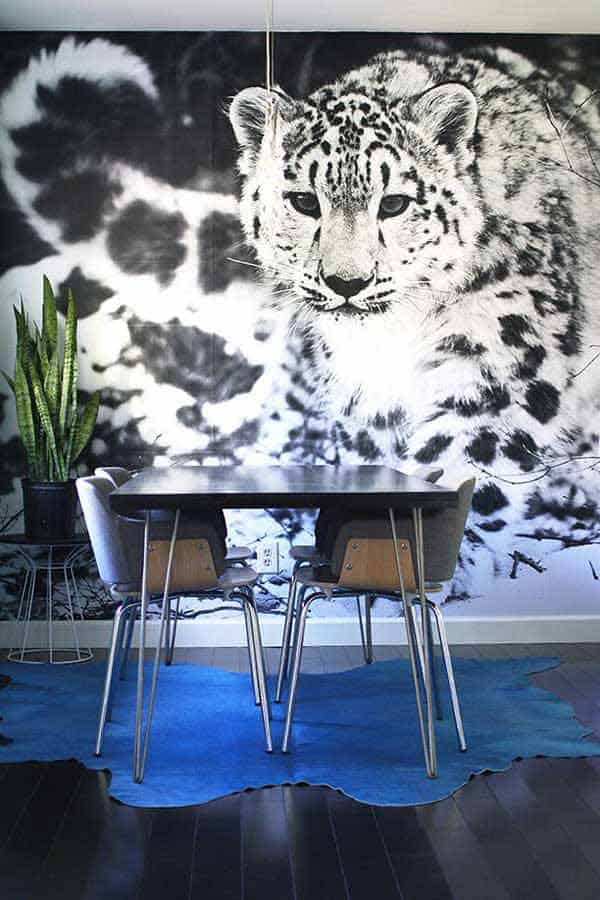 22 Cool Dinning Rooms Transformed Beautifully by Wall Murals homesthetics decor (16)
