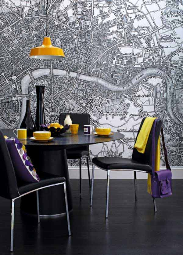 22 Cool Dinning Rooms Transformed Beautifully by Wall Murals homesthetics decor (6)