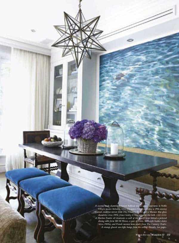 22 Cool Dinning Rooms Transformed Beautifully by Wall Murals homesthetics decor (7)