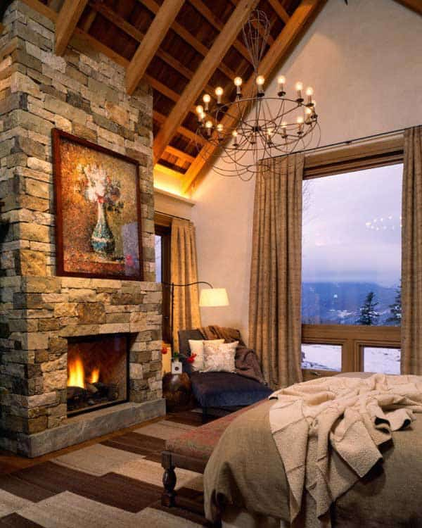 22 Extraordinary Beautiful Rustic Bedroom Interior Designs Filled With  Coziness Homesthetics Decor (12)