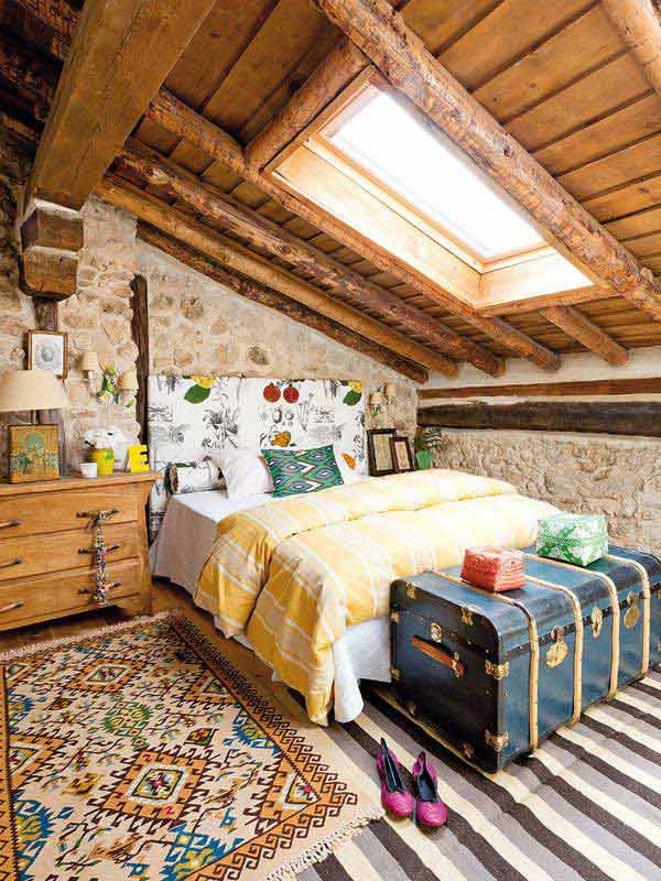 22 Extraordinary Beautiful Rustic Bedroom Interior Designs Filled With Coziness homesthetics decor (13)