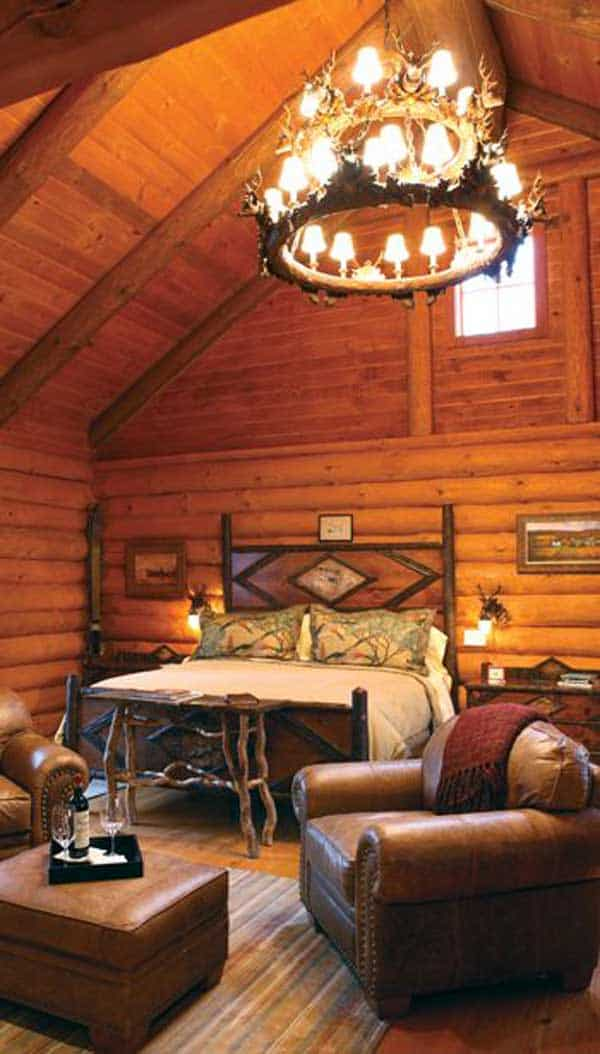 22 Extraordinary Beautiful Rustic Bedroom Interior Designs Filled With Coziness homesthetics decor (16)
