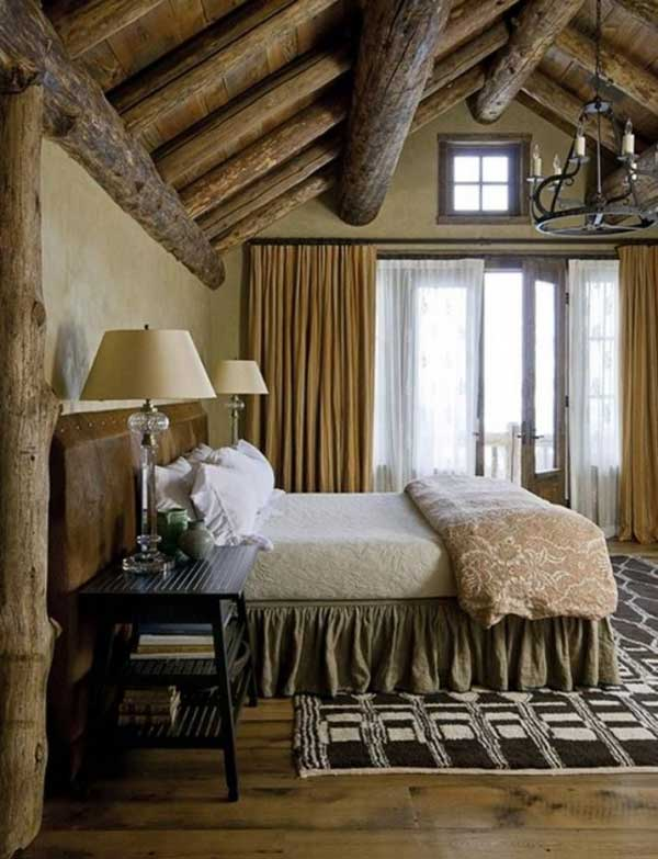 22 Extraordinary Beautiful Rustic Bedroom Interior Designs Filled With Coziness homesthetics decor (17)