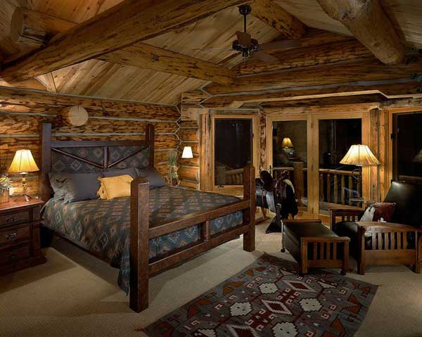 22 Extraordinary Beautiful Rustic Bedroom Interior Designs Filled With Coziness homesthetics decor (18)