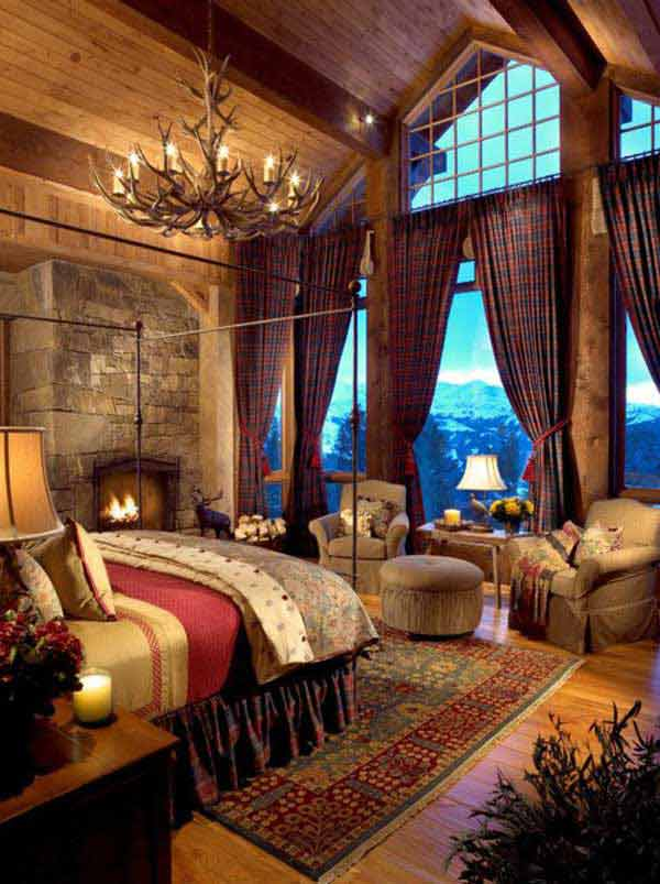 2 a rustic bedroom design with expansive views can sculpt the perfect escape