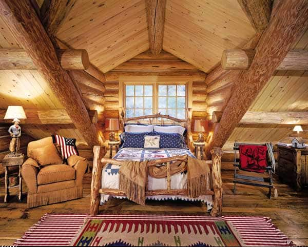 22 Extraordinary Beautiful Rustic Bedroom Interior Designs Filled With Coziness homesthetics decor (20)