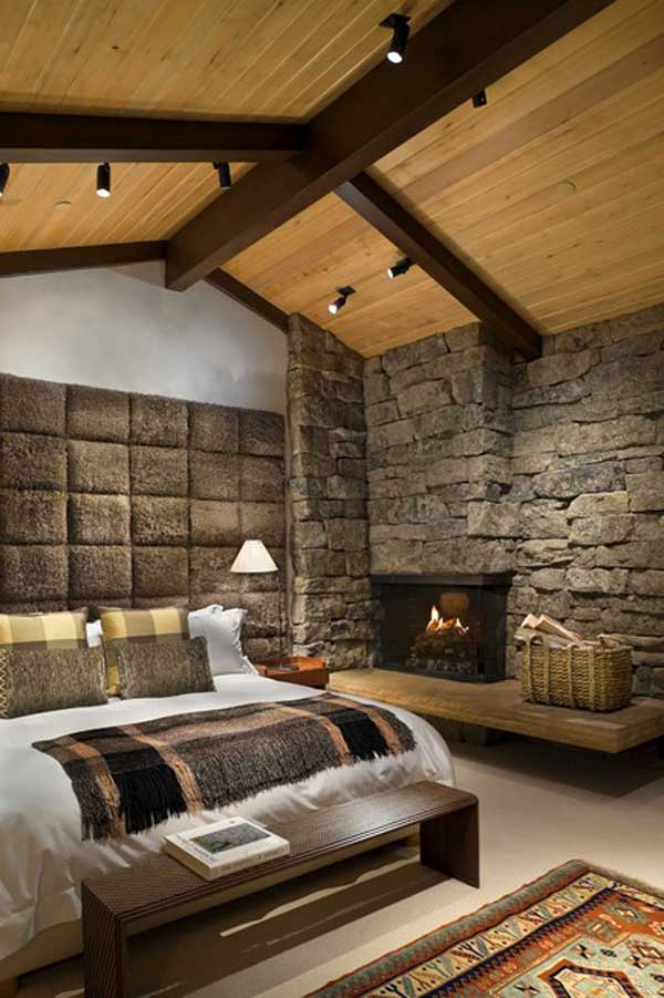 22 Extraordinary Beautiful Rustic Bedroom Interior Designs Filled With Coziness homesthetics decor (21)
