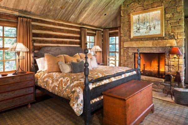 22 Extraordinary Beautiful Rustic Bedroom Interior Designs Filled With Coziness homesthetics decor (22)
