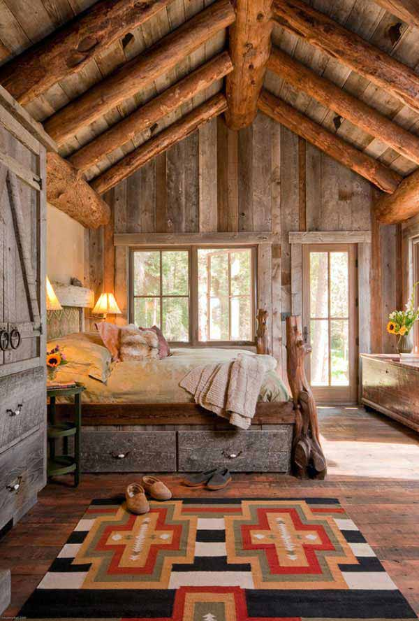 22 Extraordinary Beautiful Rustic Bedroom Interior Designs Filled With Coziness homesthetics decor (5)