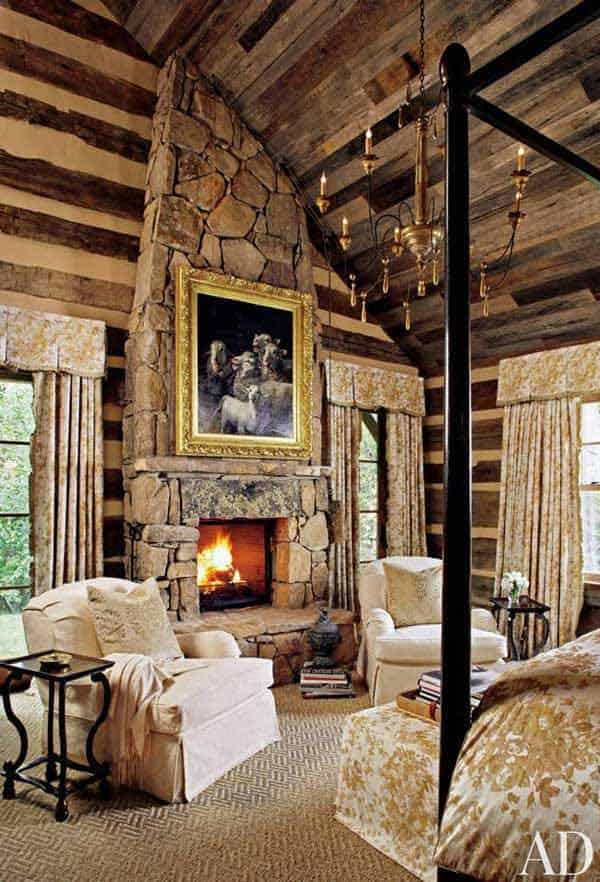 22 Extraordinary Beautiful Rustic Bedroom Interior Designs Filled With Coziness homesthetics decor (6)