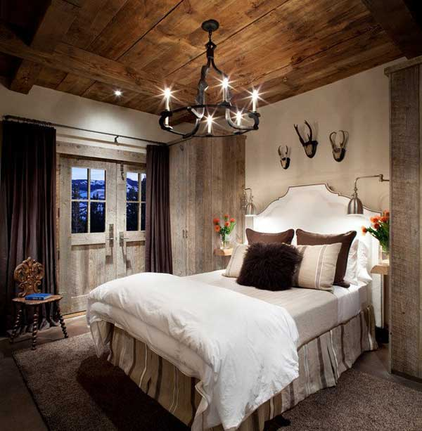 22 Extraordinary Beautiful Rustic Bedroom Interior Designs Filled With Coziness homesthetics decor (7)