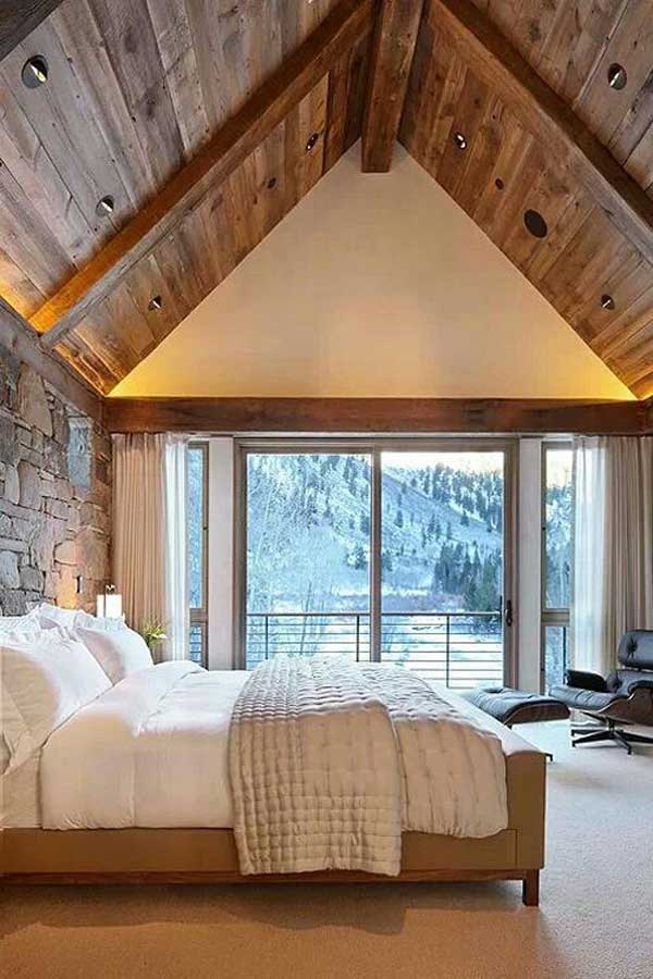 22 Extraordinary Beautiful Rustic Bedroom Interior Designs Filled With Coziness homesthetics decor (8)