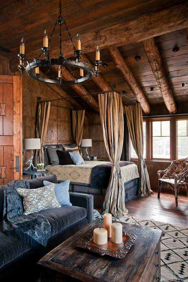 22 Extraordinary Beautiful Rustic Bedroom Interior Designs Filled With Coziness homesthetics decor (9)