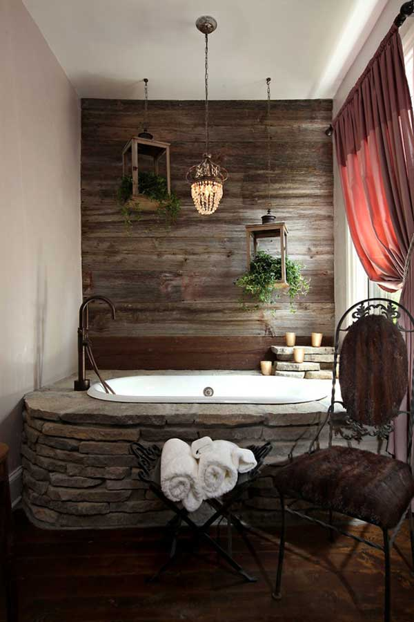 Charmant 22 Natural Rock Bathtubs Emphasizing Their Spatialities Homesthetics Cool  Bathrooms