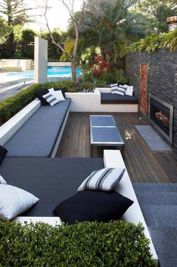23 Simple Beautiful Small Backyards Presenting Spaciousness and Warmth homesthetics designs (10)