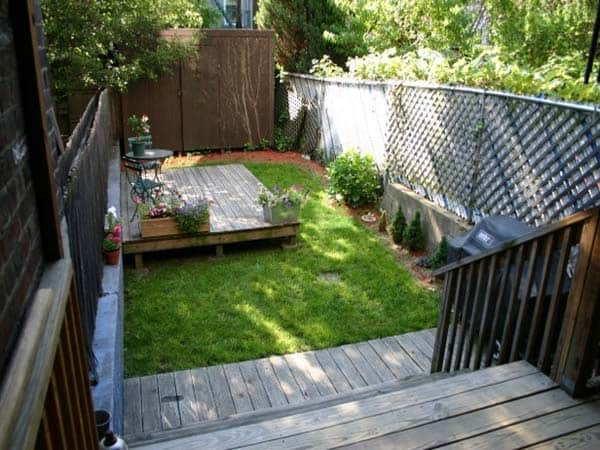 23 Simple Beautiful Small Backyards Presenting Spaciousness and Warmth homesthetics designs (13)