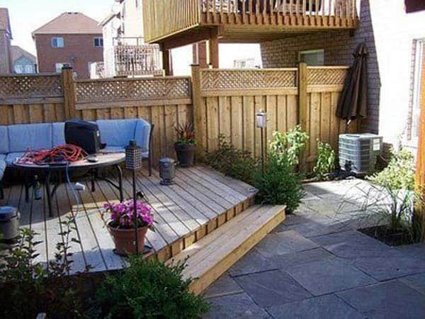 23 Simple Beautiful Small Backyards Presenting Spaciousness and Warmth homesthetics designs (14)