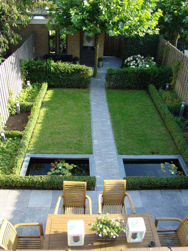 23 Simple Beautiful Small Backyards Presenting Spaciousness and Warmth homesthetics designs (18)