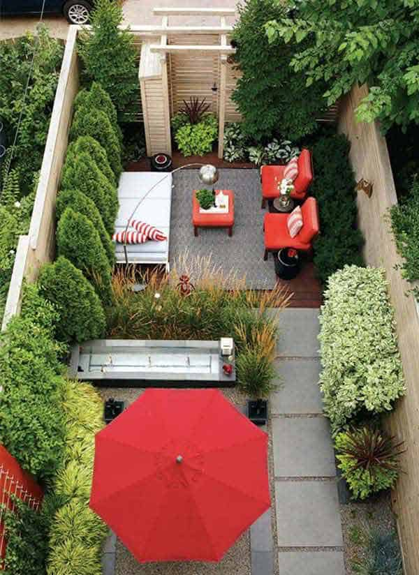 23 Simple Beautiful Small Backyards Presenting Spaciousness and Warmth homesthetics designs (19)