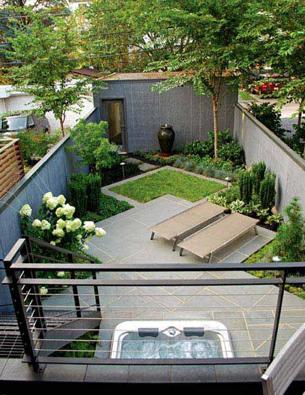 23 Simple Beautiful Small Backyards Presenting Spaciousness and Warmth homesthetics designs (2)