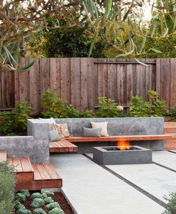 23 Simple Beautiful Small Backyards Presenting Spaciousness and Warmth homesthetics designs (23)
