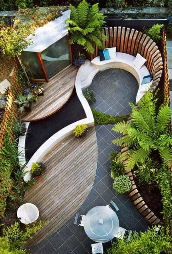 48 Simple Beautiful Small Backyards Presenting Spaciousness And Warmth Simple Backyard Designs For Small Yards