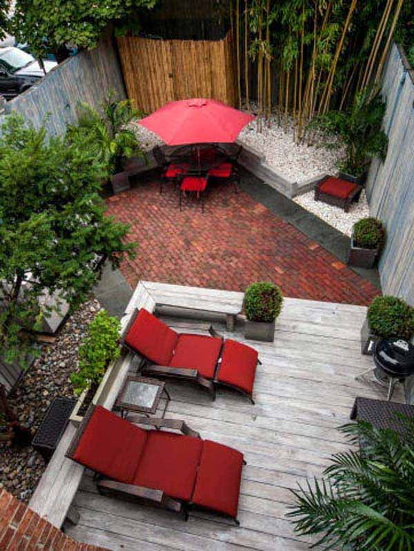 23 Simple Beautiful Small Backyards Presenting Spaciousness and Warmth homesthetics designs (9)