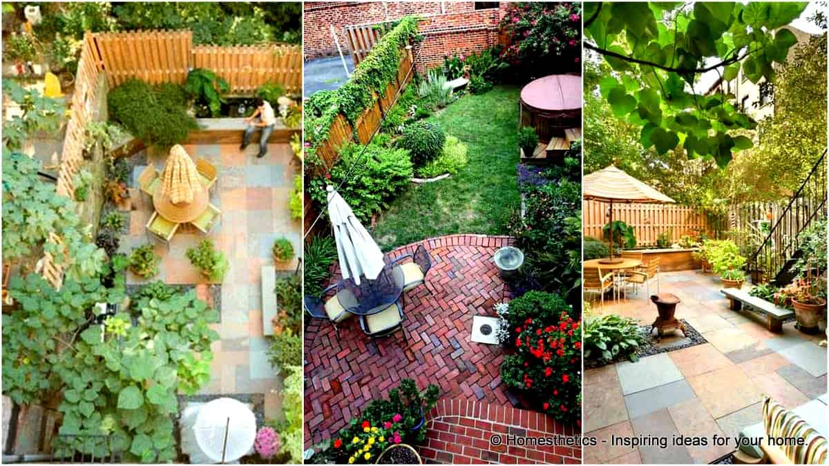 23 Simple Beautiful Small Backyards Presenting ... on Stunning Backyards  id=16964