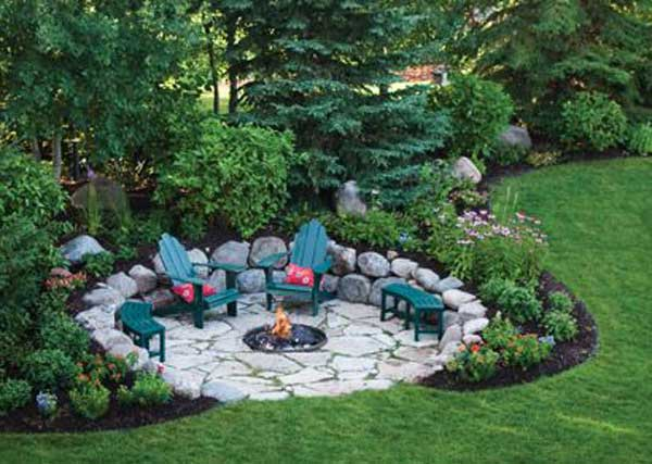 23 Simply Impressive Sunken Sitting Areas For a Mesmerizing Backyard Landscape homesthetics decor (1)