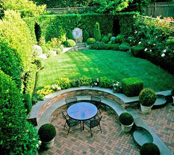 23 Simply Impressive Sunken Sitting Areas For a Mesmerizing Backyard Landscape homesthetics decor (15)