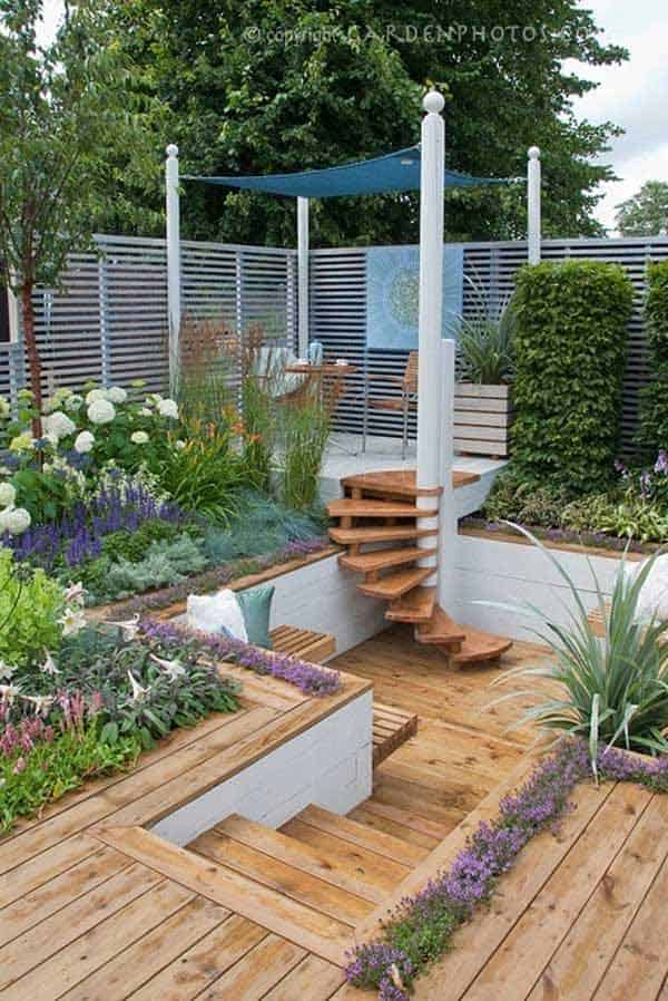 23 Simply Impressive Sunken Sitting Areas For a Mesmerizing Backyard Landscape homesthetics decor (16)