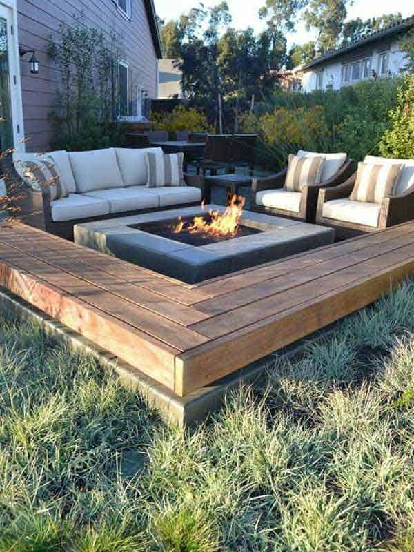 23 Simply Impressive Sunken Sitting Areas For a Mesmerizing Backyard Landscape homesthetics decor (2)