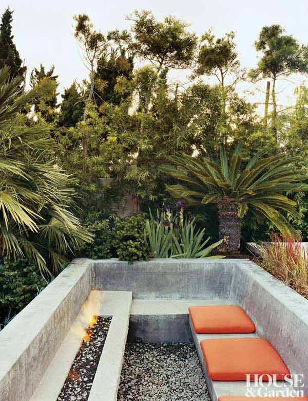 23 Simply Impressive Sunken Sitting Areas For a Mesmerizing Backyard Landscape homesthetics decor (23)