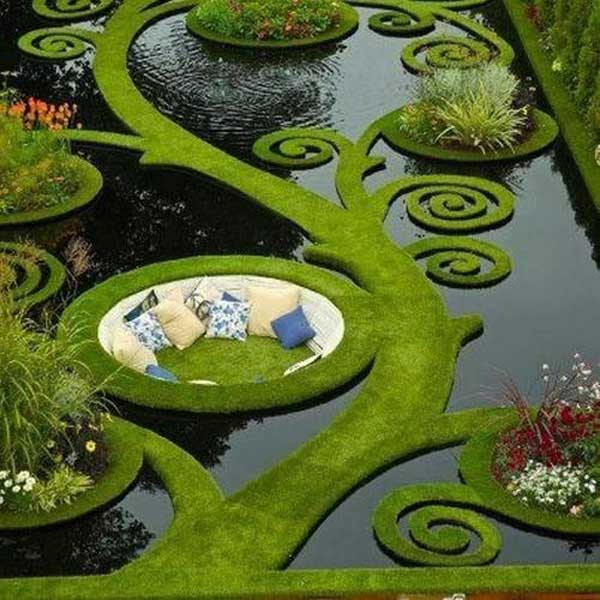 23 Simply Impressive Sunken Sitting Areas For a Mesmerizing Backyard Landscape homesthetics decor (7)