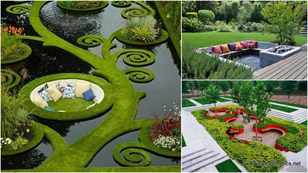 23 simply impressive sunken sitting areas for a mesmerizing backyard landscape - Critical elements for a backyard landscaping ...