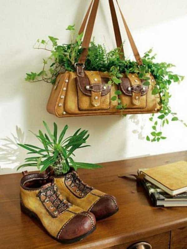 24 Highly Creative Yet Inexpensive Recycled Flower Pots For Your Household homesthetics decor (16)