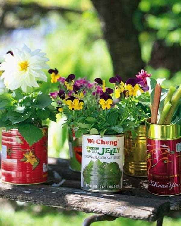 24 Highly Creative Yet Inexpensive Recycled Flower Pots For Your Household homesthetics decor (24)