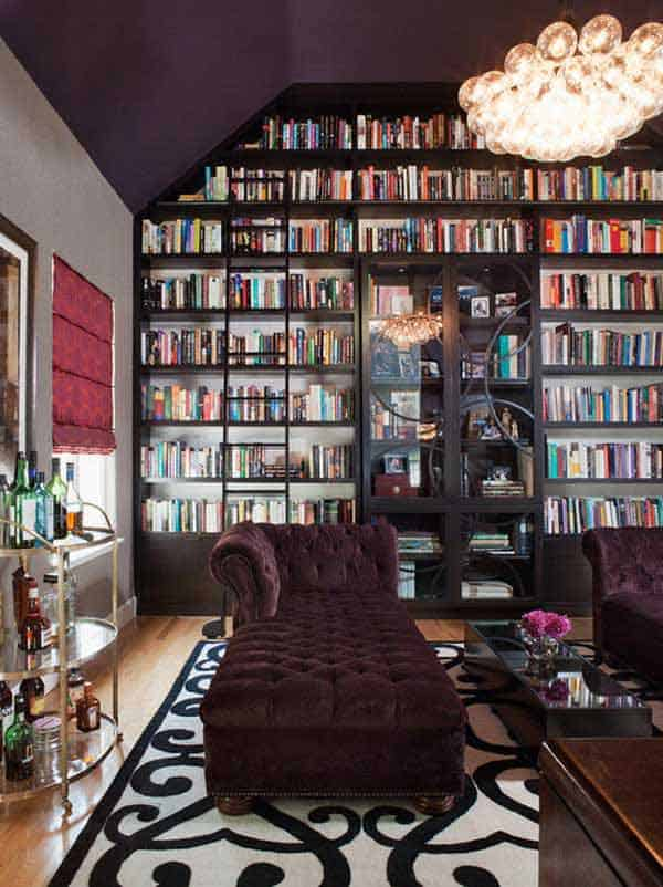 24 Insanely Beautiful Wall Bookshelves For Enthusiast Readers homesthetics decor (11)