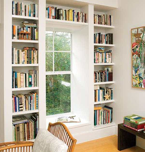 24 Insanely Beautiful Wall Bookshelves For Enthusiast Readers homesthetics decor (12)