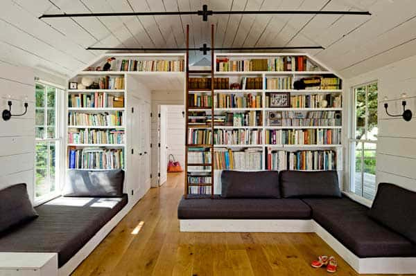 24 Insanely Beautiful Wall Bookshelves For Enthusiast Readers homesthetics decor (13)