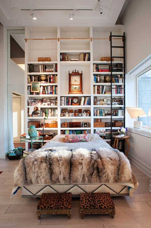 24 Insanely Beautiful Wall Bookshelves For Enthusiast Readers homesthetics decor (14)