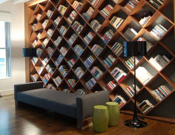 24 Insanely Beautiful Wall Bookshelves For Enthusiast Readers homesthetics decor (15)