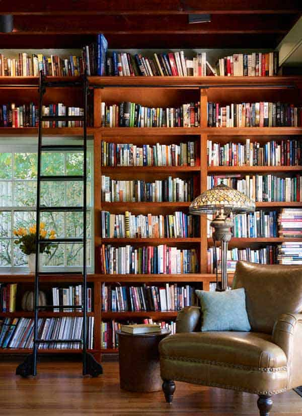 24 Insanely Beautiful Wall Bookshelves For Enthusiast Readers homesthetics decor (18)