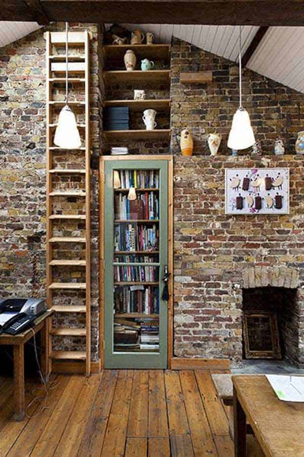 24 Insanely Beautiful Wall Bookshelves For Enthusiast Readers homesthetics decor (2)
