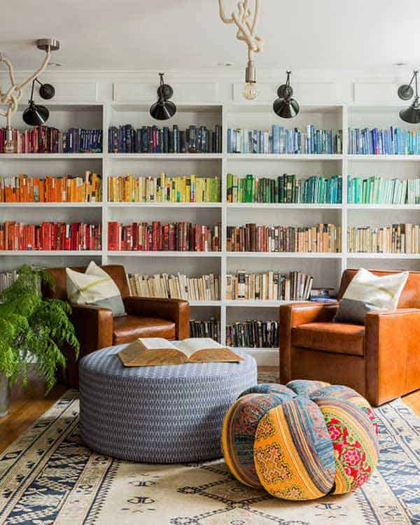 24 Insanely Beautiful Wall Bookshelves For Enthusiast Readers homesthetics decor (21)