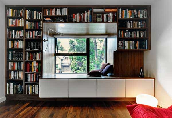 24 Insanely Beautiful Wall Bookshelves For Enthusiast Readers homesthetics decor (23)